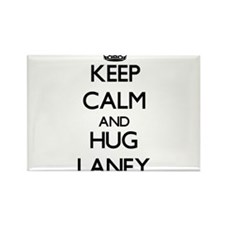 Keep Calm and HUG Laney Magnets
