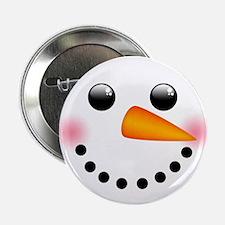 "Snowman Face 2.25"" Button (100 pack)"