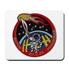 Spacewalk: The Olympic Torch Mousepad
