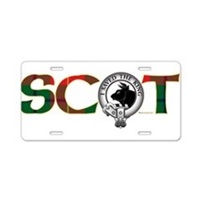 Turnbull Clan Aluminum License Plate