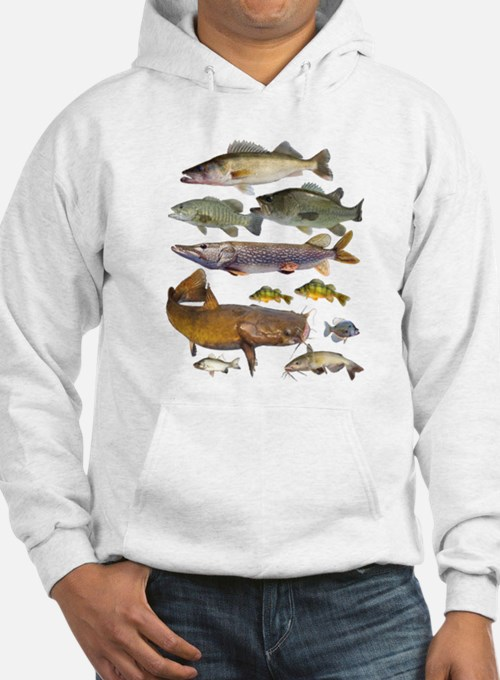 All Game Fish Hoodie