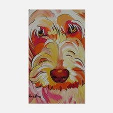Harvey the Doodle Decal