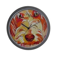 Harvey the Doodle Wall Clock