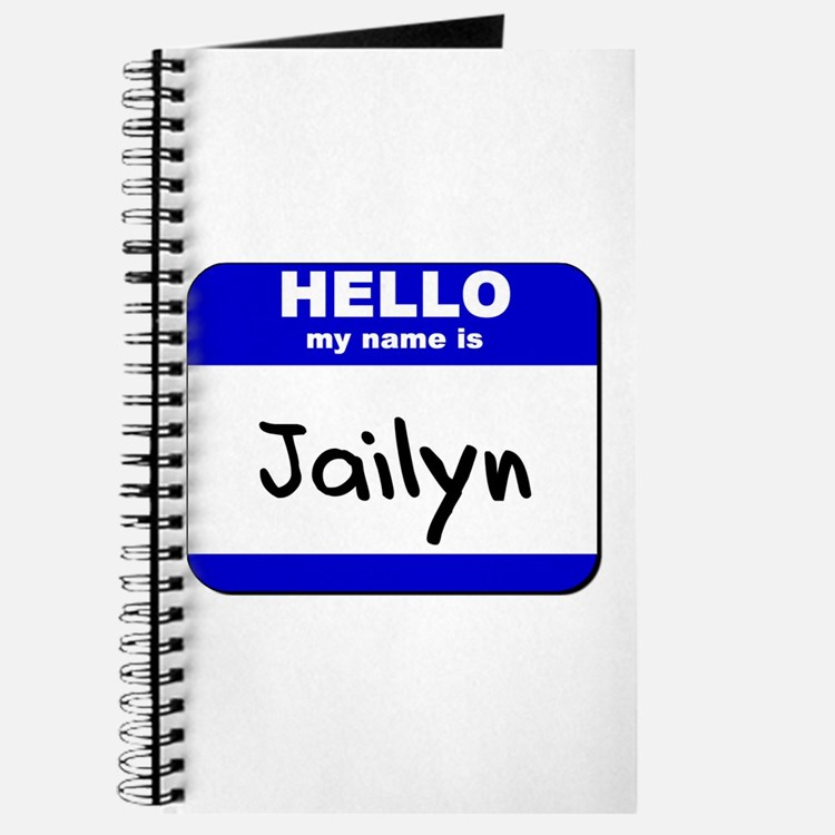hello my name is jailyn Journal