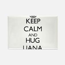 Keep Calm and HUG Liana Magnets