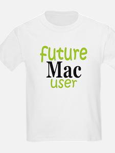 Future Mac User (green) T-Shirt