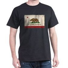 California Flag Distressed T-Shirt