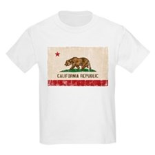 California Flag Distressed T-Shirt