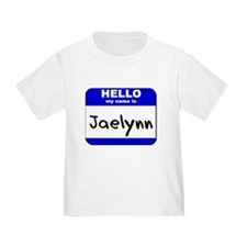 hello my name is jaelynn T
