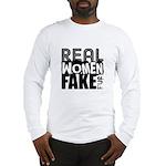 Real Women Fake Fur Long Sleeve T-Shirt