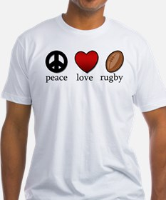 Rugby Peace Love Rugby Shirt