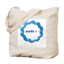WWBD blue.jpg Tote Bag