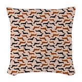 Dachshund Woven Pillows