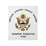 Semper Paratus Throw Blanket