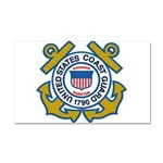 US Coast Guard Car Magnet 20 x 12