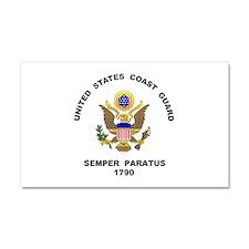 Semper Paratus Car Magnet 20 x 12