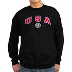USA USCG Flags Sweatshirt (dark)