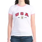 USA - USCG Jr. Ringer T-Shirt