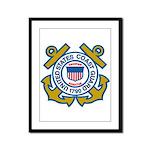 US Coast Guard Framed Panel Print