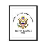 Semper Paratus Framed Panel Print