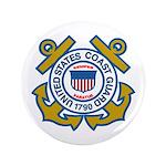 US Coast Guard 3.5&Quot; Button