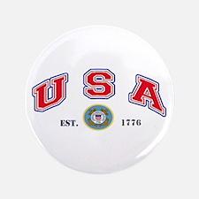 "USA-USCG 3.5"" Button"