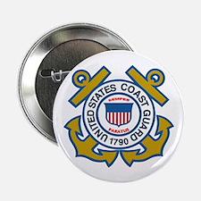 US Coast Guard 2.25&Quot; Button
