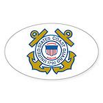 US Coast Guard Sticker (Oval)