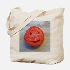 Tomato Smile Tote Bag