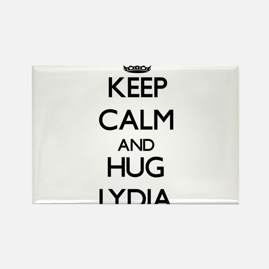 Keep Calm and HUG Lydia Magnets