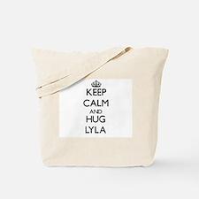 Keep Calm and HUG Lyla Tote Bag