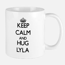Keep Calm and HUG Lyla Mugs