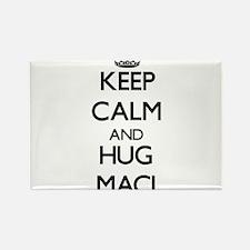 Keep Calm and HUG Maci Magnets