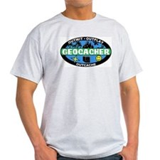 Geocacher Ash Grey T-Shirt