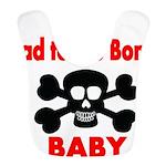 Bad to the Bone Baby Bib