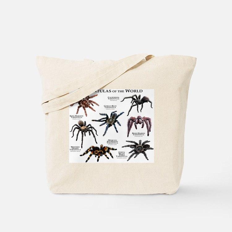 Tarantulas of the World Tote Bag