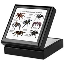 Tarantulas of the World Keepsake Box