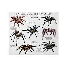 Tarantulas of the World Throw Blanket