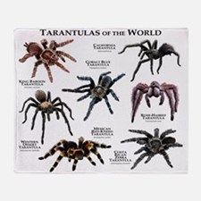 Tarantulas of the World Throw Blanket