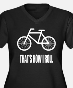 Thats How I Roll Bicycle Plus Size T-Shirt