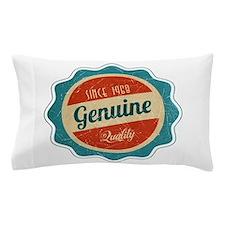 Retro Genuine Quality Since 1968 Pillow Case