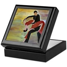 Ballroom Dancing Keepsake Box