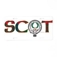 Ross Clan Aluminum License Plate