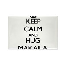 Keep Calm and HUG Makaila Magnets