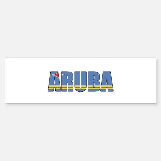 Aruba Bumper Bumper Bumper Sticker