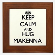 Keep Calm and HUG Makenna Framed Tile