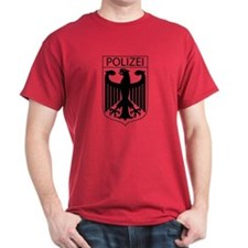 POLIZEI German Police T-Shirt