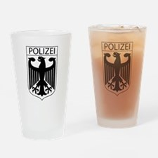 POLIZEI German Police Drinking Glass