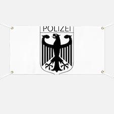 POLIZEI German Police Banner