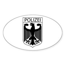POLIZEI German Police Decal
